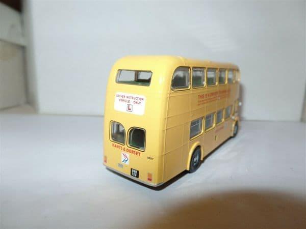B T Models B115C Bristol Lodekka LD6G Bus Hants & Dorset NBC Trainer Yellow